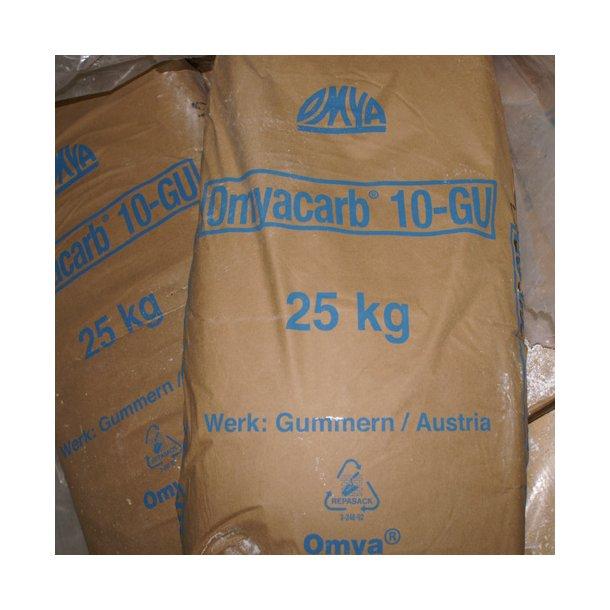 Calcium karbonat (mikroniseret marmor) 25 kg.