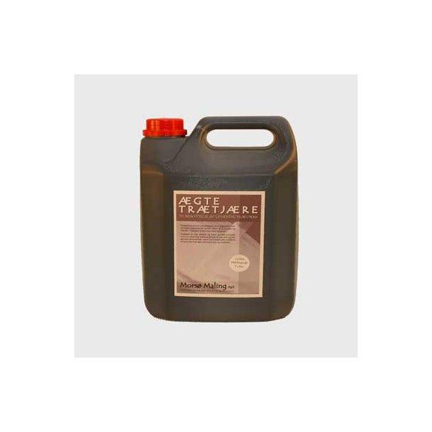 Milebrændt trætjære og Koldp. linolinolie 5 liter