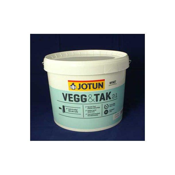 Loft/Vægmaling 10 ltr. mat gl. 5, kan tones