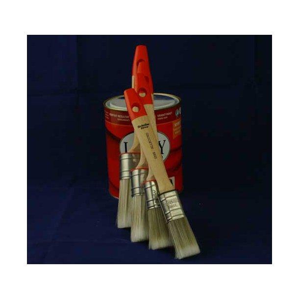 Oval allround pensel  25, 35, 45 eller 55 mm.