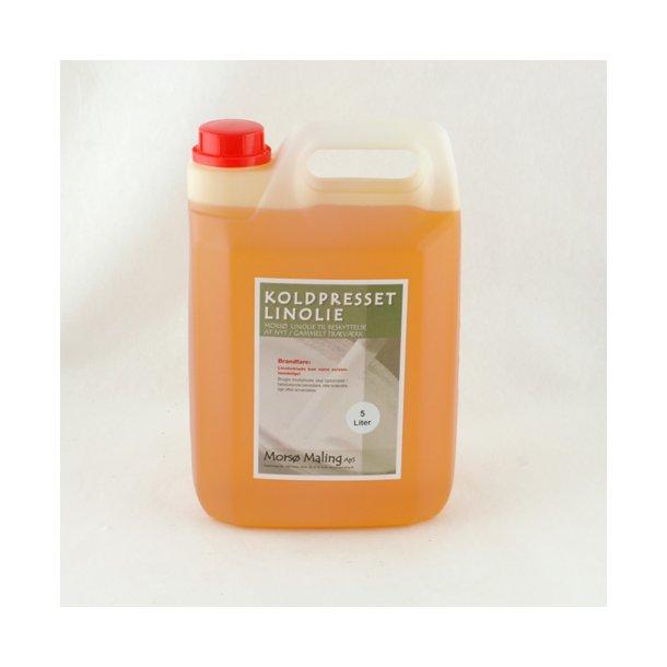 5 liter Koldpresset linolie