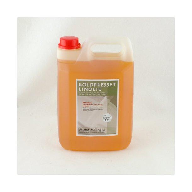 5 liter Koldpresset linolie med fungicid