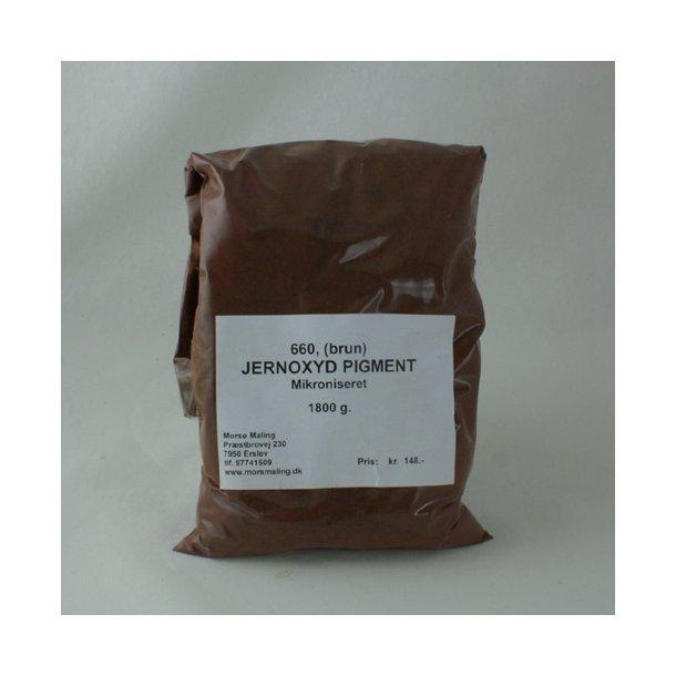 Farvepigment 1,8 kg. Brun 660
