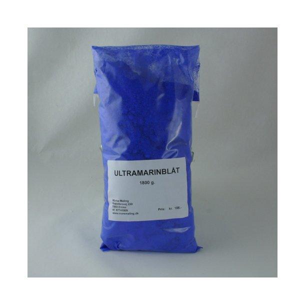 Farvepigment 1,8 kg. Ultramarinblåt