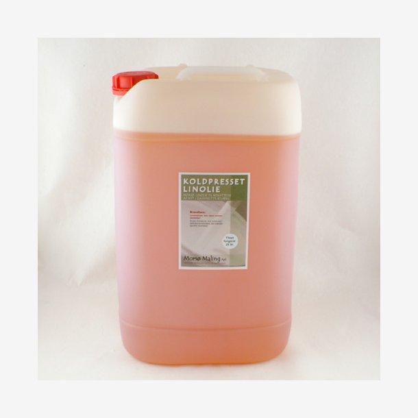25 liter Koldpresset linolie med fungicid