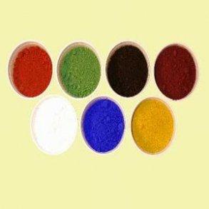 Farvepigment i 25 kg´s sække