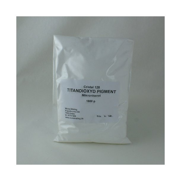Farvepigment 1,8 kg. Titandioxid Hvidt